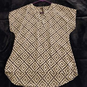 Maurices high-low blouse. Size Small